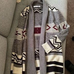 Cupcakes and cashmere Nordic chunky sweater